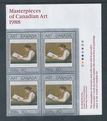 Canada #1203i UR PL BL Low Fluorescent Paper Variety MNH **Free Shipping**