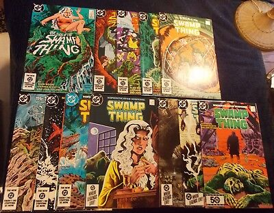 Saga of Swamp Thing (early Moore) 25(Constantine Cameo), 26-36, New Old Stock,WP