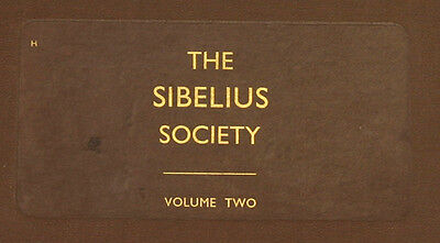 "LONDON SYMPH. & KOUSSEVITZKY ""The Sibelius Society II"" Symph. No. 7 + 3    A215"