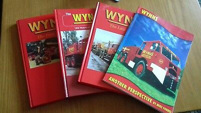 4 x Wynns Heavy Haulage Books.