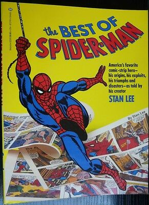 BEST OF SPIDER-MAN, by Stan Lee, Newpaper daily strips reprints