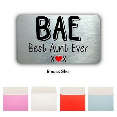 BAE Keepsake-Mini Card Wallet/Purse Gift Card-Aunt Gift-Aunt Birthday Gift