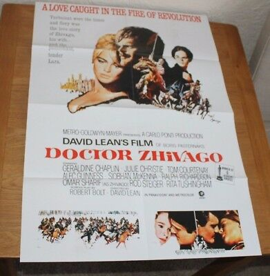 Doctor Zhivago Cinema Film Poster Repro. Alec Guinness Julie Christie Sharif