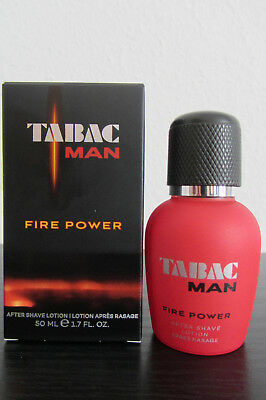 Tabac Man FIRE POWER After Shave Lotion 50 ml SONDERPREIS