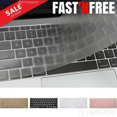 Silicone Keyboard Cover Skin for MacBook Pro 13 w/ Retina No Touch Bar 2017/2016