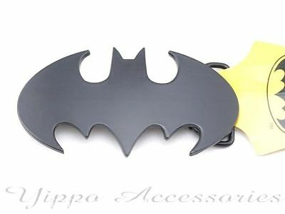 Batman Licensed Dark Knight Black Metal Belt Buckle