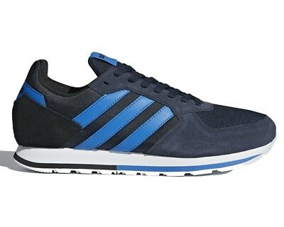 finest selection 2b31c 2f2f4 Adidas 8K DB1727 Mens Trainers Blue Gym Running Shoes