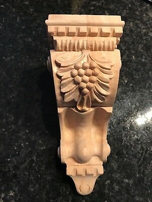 Wood Corbels,   Maple Corbel Wood, handcraft, 7 inch, x 3 1/2´´ x 3 3/4''