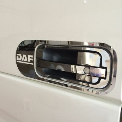 DAF XF 95 105 106 10pc Door Handle Cover Set Stainless Steel Chrome Trim