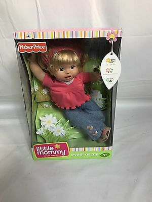 Little Mommy Sweet As Me Boho Baby - Lets Play - New In Damaged Box
