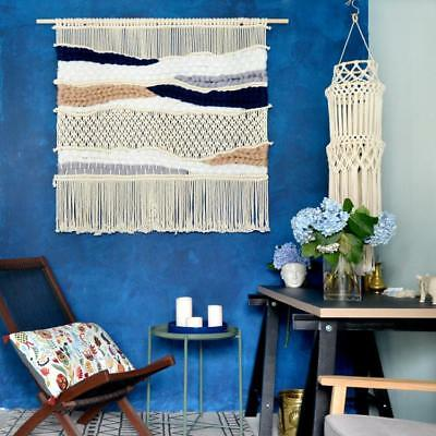 Macrame Wall Art Hand-knitted Rug Tapestry