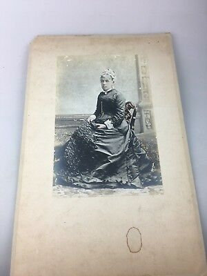 Vintage Photograph - Lady Sitting - 1912 - Mary Colina Deane