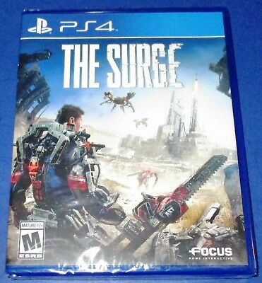 The Surge Sony PlayStation 4 *Factory Sealed! *Free Shipping!