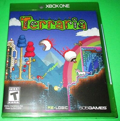 Terraria -- Special Edition Xbox One *New! *Sealed! *Free Shipping!