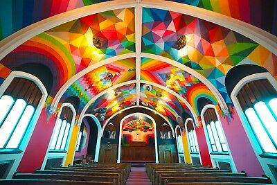 Gorgeous Church Pews from the World Famous International Church of Cannabis