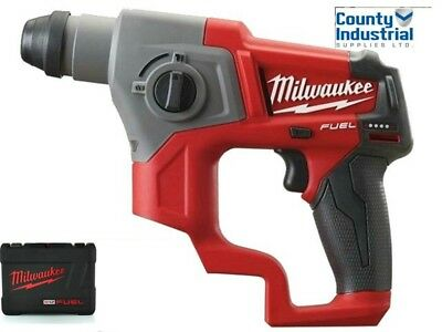 Milwaukee M12CH-0 COMPACT SDS DRILL BODY ONLY WITH CASE