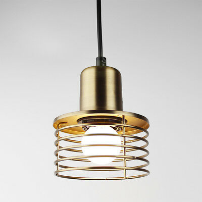 Industrial Vintage Brass Pendant Light LOFT Ceiling Lighting Hanging Chandelier