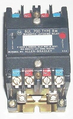 Allen Bradley 700-Rm400A1 Ser B Magnetic Latching Relay Bul-700 Type Rm