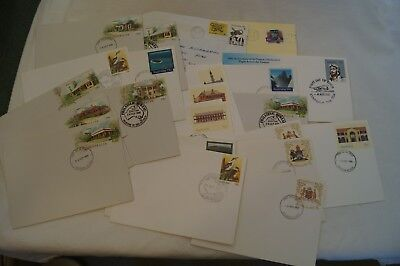 Group Lot of 25 Vintage - Various Covers,Envelopes and Stamps - Australia