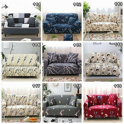 Stretch Fit Lounge Couch Sofa Cover Slipcover Recliner Protector 1/2/3 Seaters