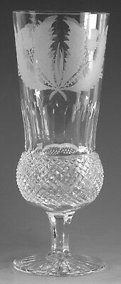 "EDINBURGH Crystal - THISTLE Cut - Champagne Flute Glass / Glasses - 6 7/8"" (2nd)"