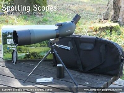 Eyeskey EK8380 20-60x80 Spotting Scope plus table top tripod