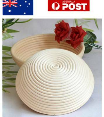 4 Type Round Banneton Bortform Dough Rising Rattan Bread Proofing Basket