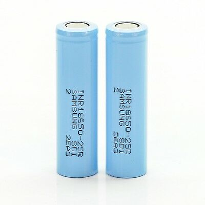 2x Samsung IMR 18650 25R 2500mAh 20A Batteries | Rechargeable High Drain Battery