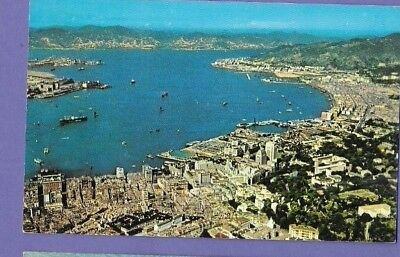 Kowloon Bay Hong Kong Original Vintage Postcard Gv