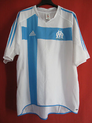 Football jersey Olympique Marseille Stock Pro New Telecom OM Adidas vintage - XL