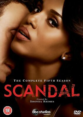 Scandal: The Complete Fifth Season [DVD]