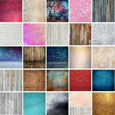 Christmas Photography Backdrop Wood Glitter Backgrounds Studio Xmas Photo Props