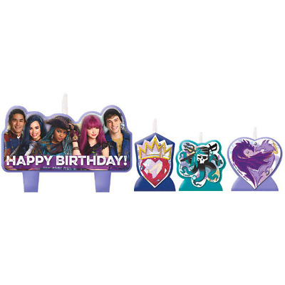 Disney Descendants 2 Candles (4)