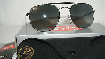 3a81ede27d0 RAY BAN New Sunglasses Marshal Black Grey Gradient RB3648 002 71 54 21 145