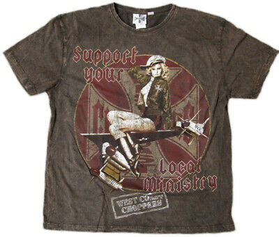 WCC West Coast Choppers T-Shirt Air Ministry Brown
