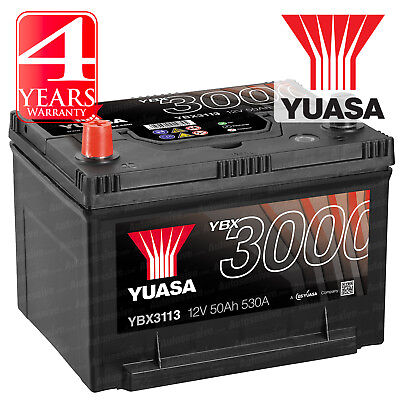 Yuasa Car Battery Calcium 12V 530CCA 50Ah T1 For Jeep Grand Cherokee