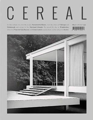 Cereal Magazine Volume 14 Autumn/Winter 2017 Travel & Style - Chicago, Edinburgh