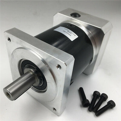 Nema34 Planetary Gearbox 100:1 Ratio Geared Speed Reducer for CNC Stepper Motor