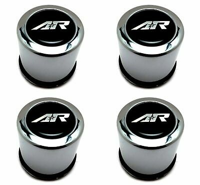 4pcs American Racing 2.95''/3.16'' Chrome Push-Thru Wheel Center Hub Caps 4 Lug
