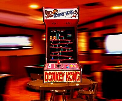 Arcade Machine Donkey Kong with 60 Classic Games Brand New Tabletop/ Bartop