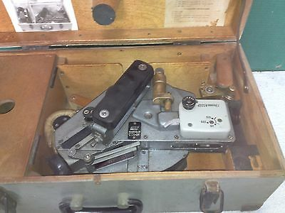 Russian Integrating Marine Sextant NMC -3 Number: 7822016 with Carry Case