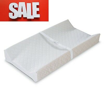 Baby Changing Table Pad Contoured Diaper Change Cushion Nursery