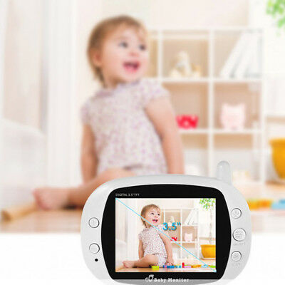 Baby Monitoring System IR Night Vision 2 Way Talk Screen Monitor Video Wireless