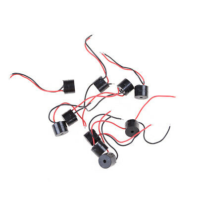 10pcs DC 12V Wired Connector Active Electronic Buzzer Motherboard Beep Alarm SR