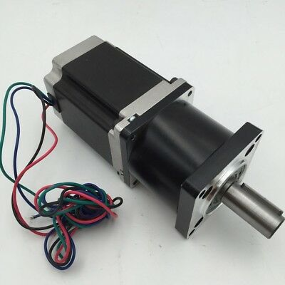 Nema23 Gear Stepper Motor Ratio 20:1  L 112mm 3Nm Planetary Gearbox Step Motor