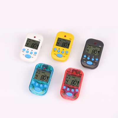 Professional Digital Metronome Lcd Display Clip-On Portable Beat Tuner Alluring