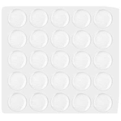 25Y15151 25*25mm Round 3D Clear Epoxy Adhesive Circles Bottle Cap Stickers