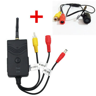903W WiFi Video Transmitter w/ Mini Butterfly Type Rear View Camera DC Interface