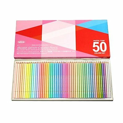 Holbein Artists Pastel Tone Colored Pencils 50 Colors OP 936 STD Free Shipping