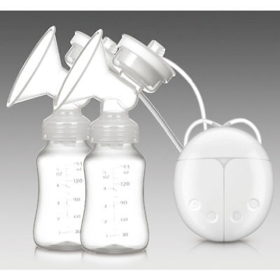 Electric Hand Free Breast Pump Automatic Double Intelligent Baby Feeder Usb New
